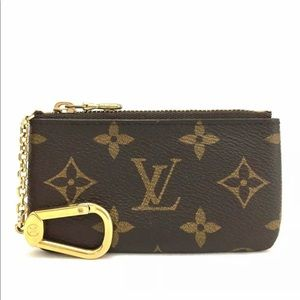 💄Louis Vuitton mini monogram keychain pouche